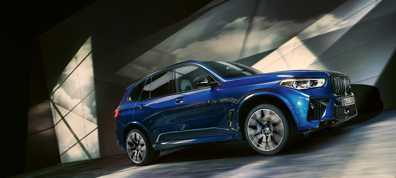 The all-new BMW X5 M Automobiles F95 2020